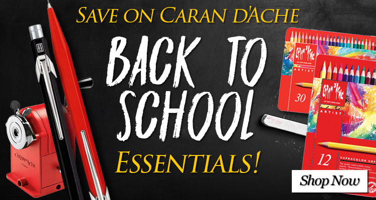 Save on Caran D'Ache Back to School Essentials