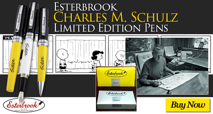 Esterbrook Charles M. Schulz Limited Edition Pens