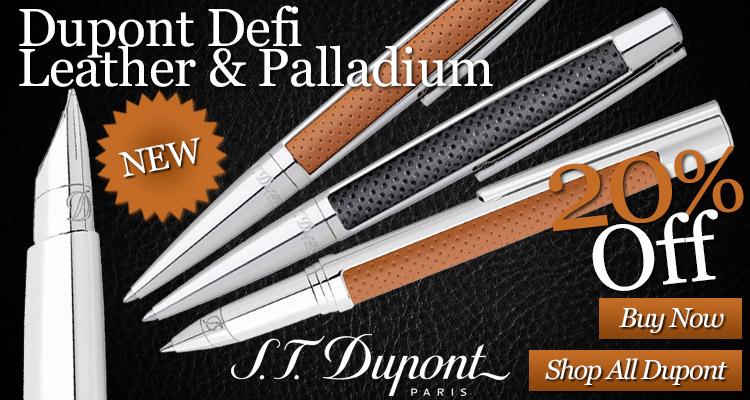 Dupont Defi Leather and Palladium