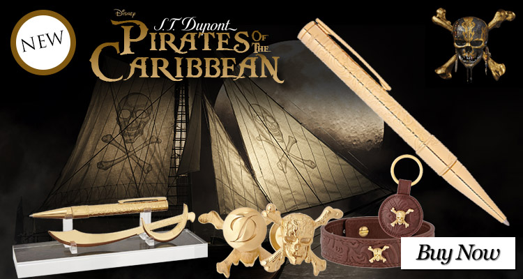 S.T. Dupont Pirates of the Caribbean Collection