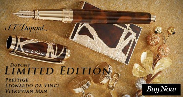 Dupont Limited Edition Prestige Leonardo da Vinci Vitruvian