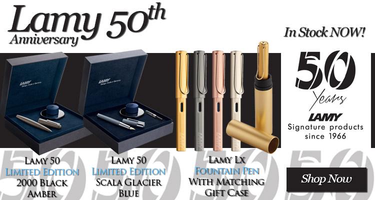 Lamy 50th Anniversary