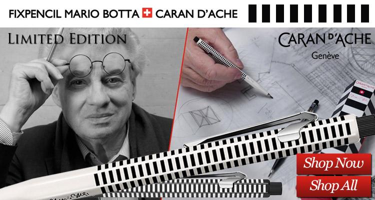 Caran d'Ache Limited Edition Mario Botta Fixpencil