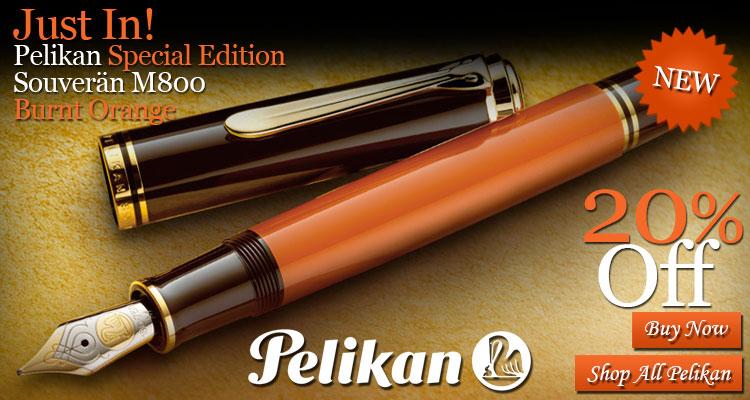 Pelikan Special Edition Souveran M800 Burnt Orange