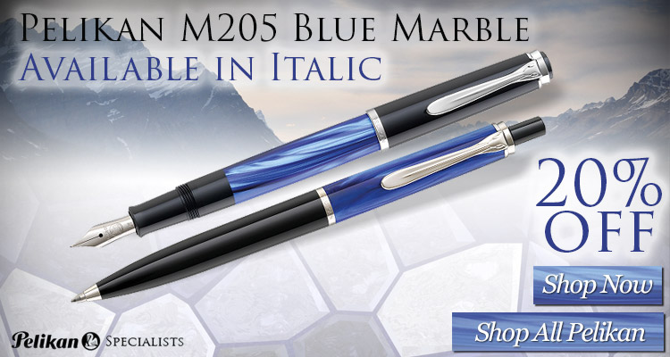 Pelikan 205 Blue Marble