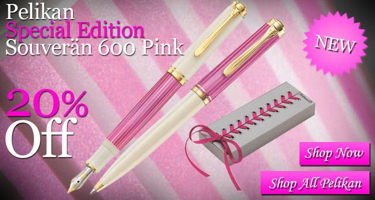 Pelikan Special Edition Souveran 600 Pink