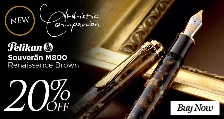 Pelikan Souveran 800 Renaissance Brown