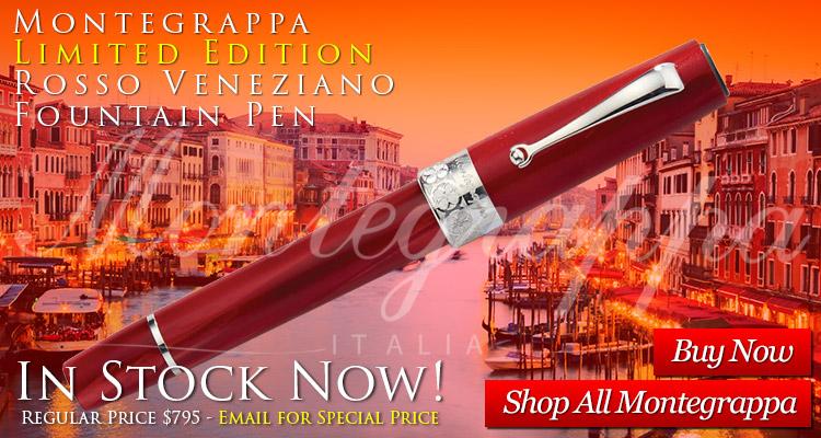 Montegrappa Limited Edition Rosso Veneziano Fountain Pen