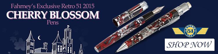 Cherry Blossom Pens